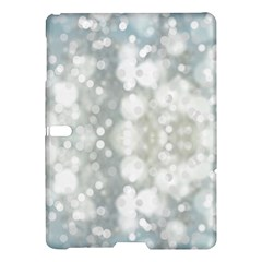 Light Circles, Blue Gray White Colors Samsung Galaxy Tab S (10 5 ) Hardshell Case  by picsaspassion