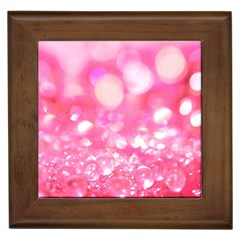 Pink Diamond  Framed Tiles by Brittlevirginclothing