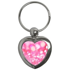 Pink Diamond  Key Chains (heart)  by Brittlevirginclothing