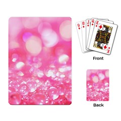 Pink Diamond  Playing Card by Brittlevirginclothing