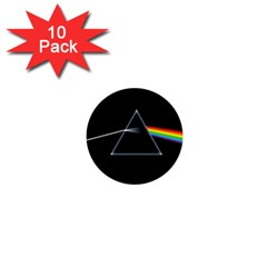 Pink Floyd  1  Mini Buttons (10 Pack)  by Brittlevirginclothing