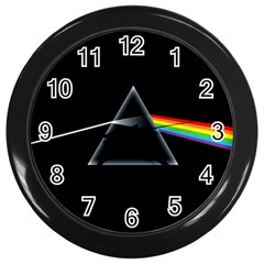 Pink Floyd  Wall Clocks (black) by Brittlevirginclothing