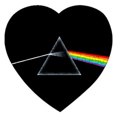 Pink Floyd  Jigsaw Puzzle (heart) by Brittlevirginclothing