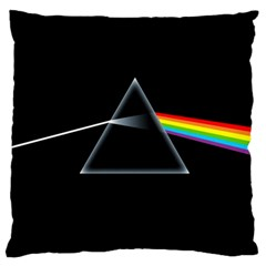 Pink Floyd  Large Cushion Case (one Side) by Brittlevirginclothing