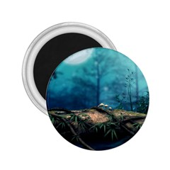 Mysterious Fantasy Nature  2 25  Magnets by Brittlevirginclothing