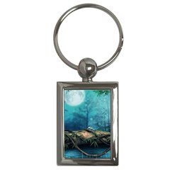 Mysterious Fantasy Nature  Key Chains (rectangle)  by Brittlevirginclothing