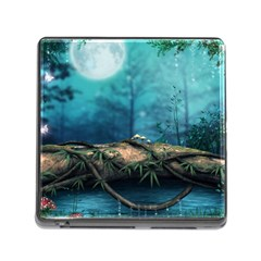 Mysterious Fantasy Nature  Memory Card Reader (square) by Brittlevirginclothing
