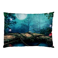 Mysterious Fantasy Nature  Pillow Case (two Sides) by Brittlevirginclothing