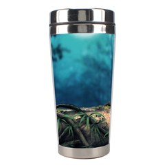 Mysterious Fantasy Nature  Stainless Steel Travel Tumblers by Brittlevirginclothing
