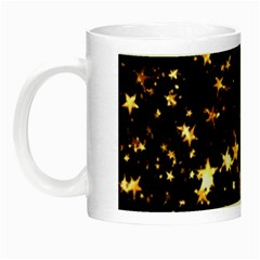 Golden Stars In The Sky Night Luminous Mugs by picsaspassion