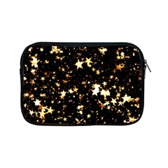 Golden Stars In The Sky Apple Ipad Mini Zipper Cases by picsaspassion
