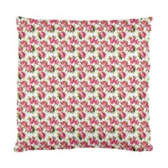 Gorgeous Pink Flower Pattern Standard Cushion Case (two Sides) by Brittlevirginclothing