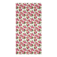 Gorgeous Pink Flower Pattern Shower Curtain 36  X 72  (stall)  by Brittlevirginclothing