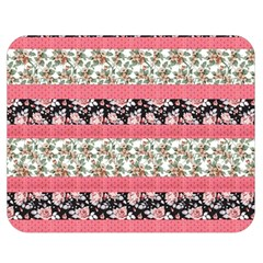 Cute Flower Pattern Double Sided Flano Blanket (medium)