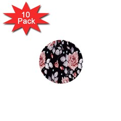 Vintage Flower 1  Mini Buttons (10 Pack)  by Brittlevirginclothing