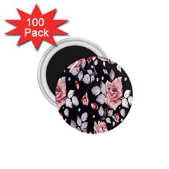 Vintage Flower 1 75  Magnets (100 Pack)  by Brittlevirginclothing