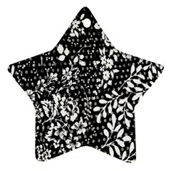 Flower Star Ornament (two Sides)  by Brittlevirginclothing