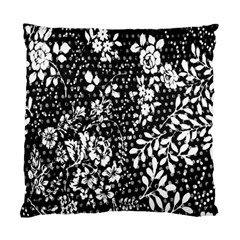Flower Standard Cushion Case (one Side) by Brittlevirginclothing