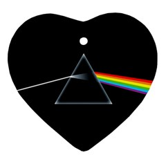 Pink Floyd  Ornament (heart)  by Brittlevirginclothing