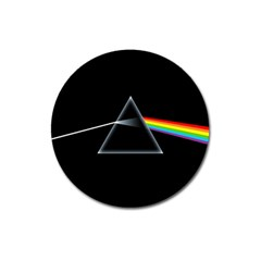 Pink Floyd  Magnet 3  (round) by Brittlevirginclothing