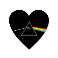 Pink Floyd  Heart Magnet by Brittlevirginclothing