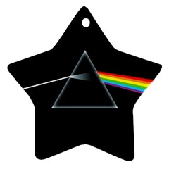 Pink Floyd  Star Ornament (two Sides)  by Brittlevirginclothing