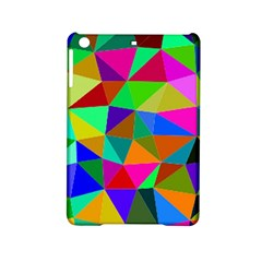 Colorful Triangles, Oil Painting Art Ipad Mini 2 Hardshell Cases by picsaspassion