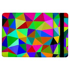 Colorful Triangles, Oil Painting Art Ipad Air Flip by picsaspassion