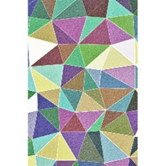 Colorful Triangles, Pencil Drawing Art 5 5  X 8 5  Notebooks by picsaspassion