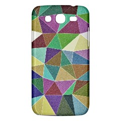 Colorful Triangles, Pencil Drawing Art Samsung Galaxy Mega 5 8 I9152 Hardshell Case  by picsaspassion