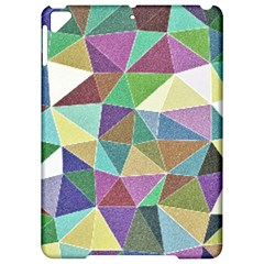 Colorful Triangles, Pencil Drawing Art Apple Ipad Pro 9 7   Hardshell Case