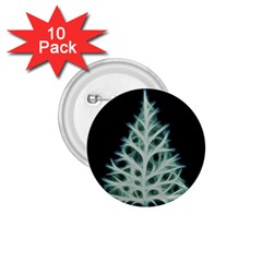 Christmas Fir, Green And Black Color 1 75  Buttons (10 Pack) by picsaspassion