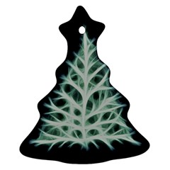 Christmas Fir, Green And Black Color Christmas Tree Ornament (2 Sides)