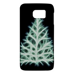 Christmas Fir, Green And Black Color Galaxy S6