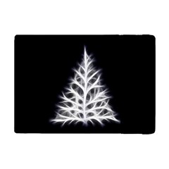 Christmas Fir, Black And White Ipad Mini 2 Flip Cases by picsaspassion