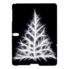 Christmas Fir, Black And White Samsung Galaxy Tab S (10 5 ) Hardshell Case