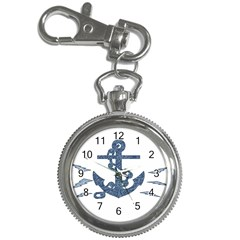 Anchor Pencil Drawing Art Key Chain Watches by picsaspassion