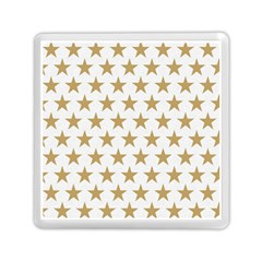 Golden Stars Pattern Memory Card Reader (square)  by picsaspassion