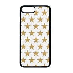 Golden Stars Pattern Apple Iphone 7 Plus Seamless Case (black) by picsaspassion