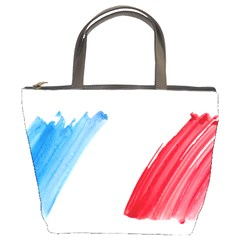 Tricolor Banner France Bucket Bags by picsaspassion
