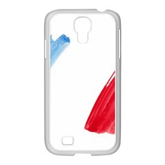 Tricolor Banner France Samsung Galaxy S4 I9500/ I9505 Case (white)