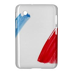 Tricolor Banner France Samsung Galaxy Tab 2 (7 ) P3100 Hardshell Case  by picsaspassion