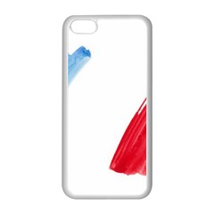 Tricolor Banner France Apple Iphone 5c Seamless Case (white)