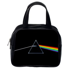 Pink Floyd  Classic Handbags (one Side) by Brittlevirginclothing
