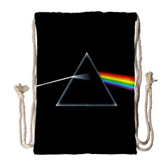 Pink Floyd  Drawstring Bag (large) by Brittlevirginclothing