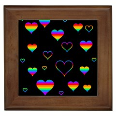 Rainbow Harts Framed Tiles