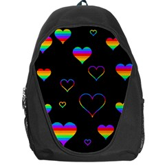 Rainbow Harts Backpack Bag by Valentinaart