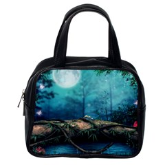 Mysterious Fantasy Nature Classic Handbags (one Side) by Brittlevirginclothing