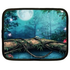Mysterious Fantasy Nature Netbook Case (xxl)  by Brittlevirginclothing