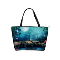 Mysterious Fantasy Nature Shoulder Handbags by Brittlevirginclothing